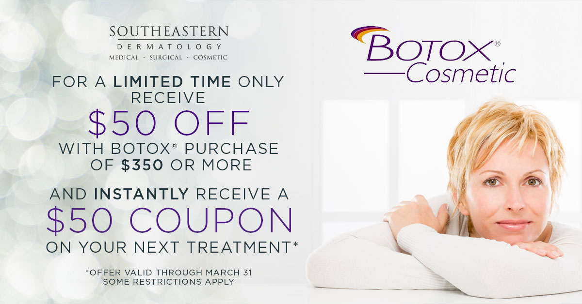 Monthly Specials At Southeastern Dermatology Knoxville