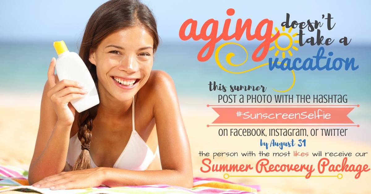 sunscreen selfie blog